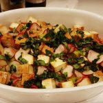 Ensalada Prensada con Queso de Tofu