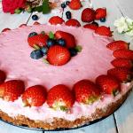 Tarta de Fresa Cremosa